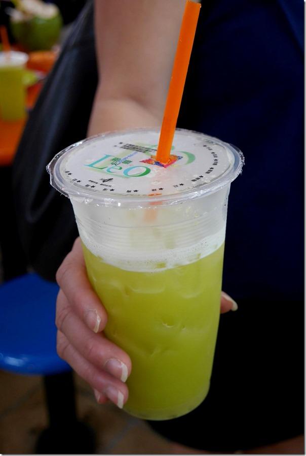 Sugar cane juice $S1.50