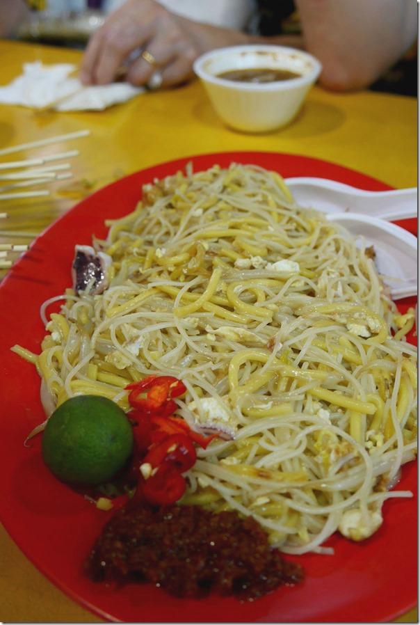 Singapore style Hokkien fried mee $S5
