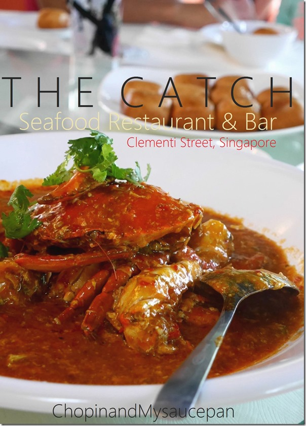 The Catch Seafood Restaurant & Bar, Clementi Street, Singapore