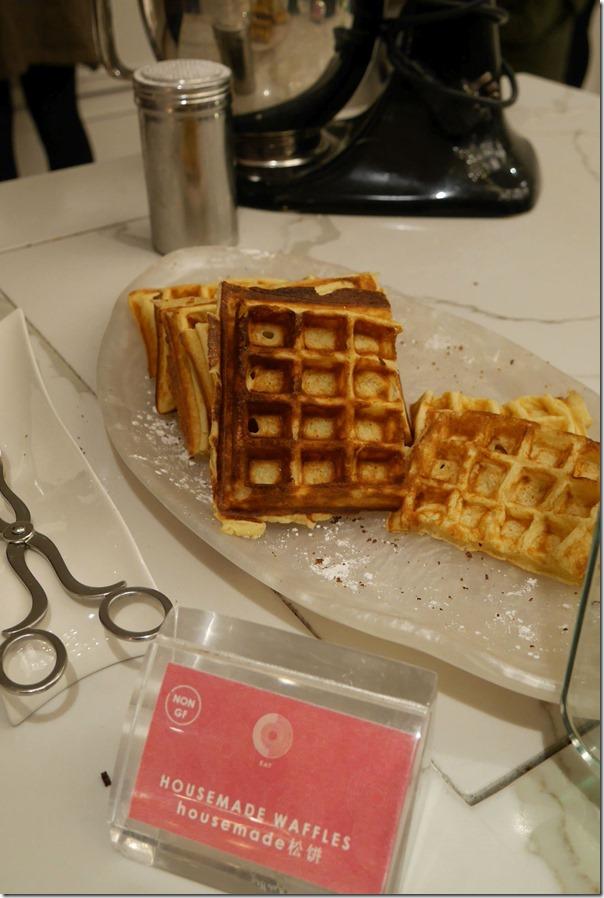 Housemade waffles