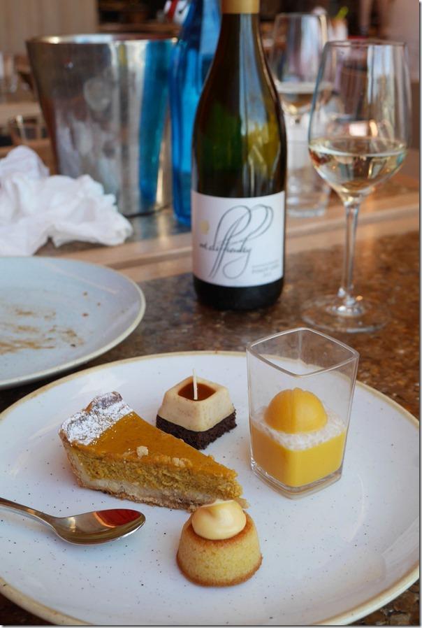 Our dessert plate
