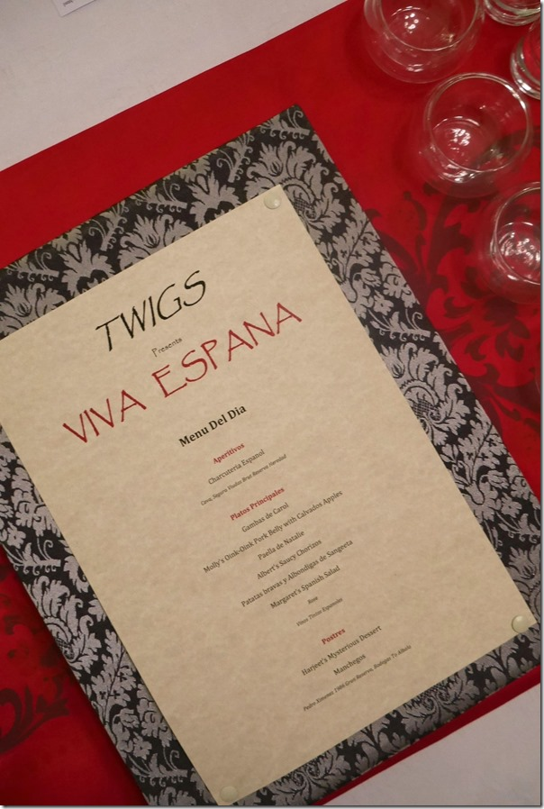 The Menu - Viva Espana!