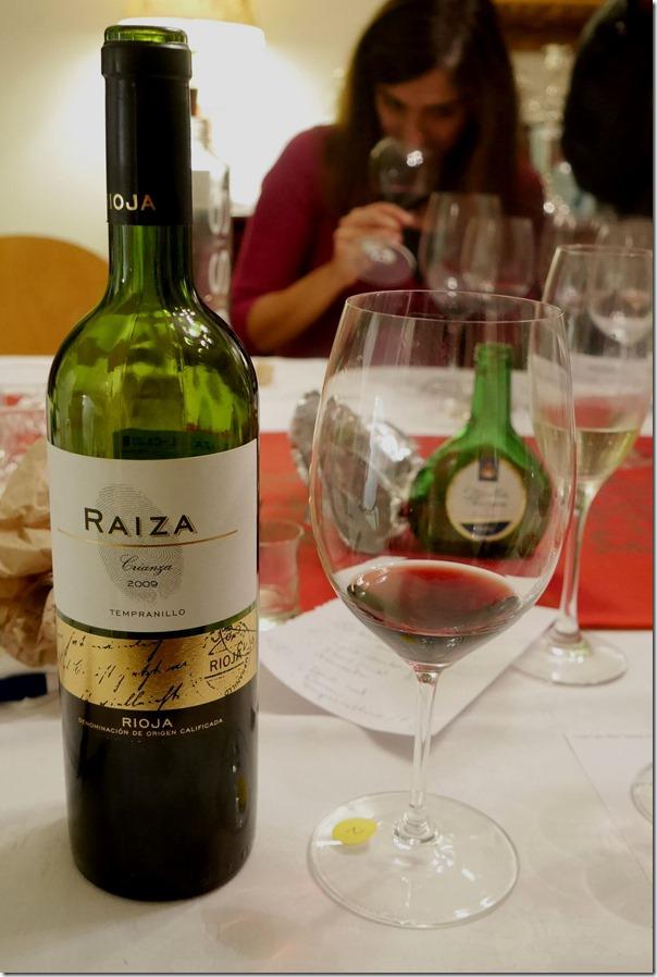 2009 Raiza Rioja Crianza tempranillo