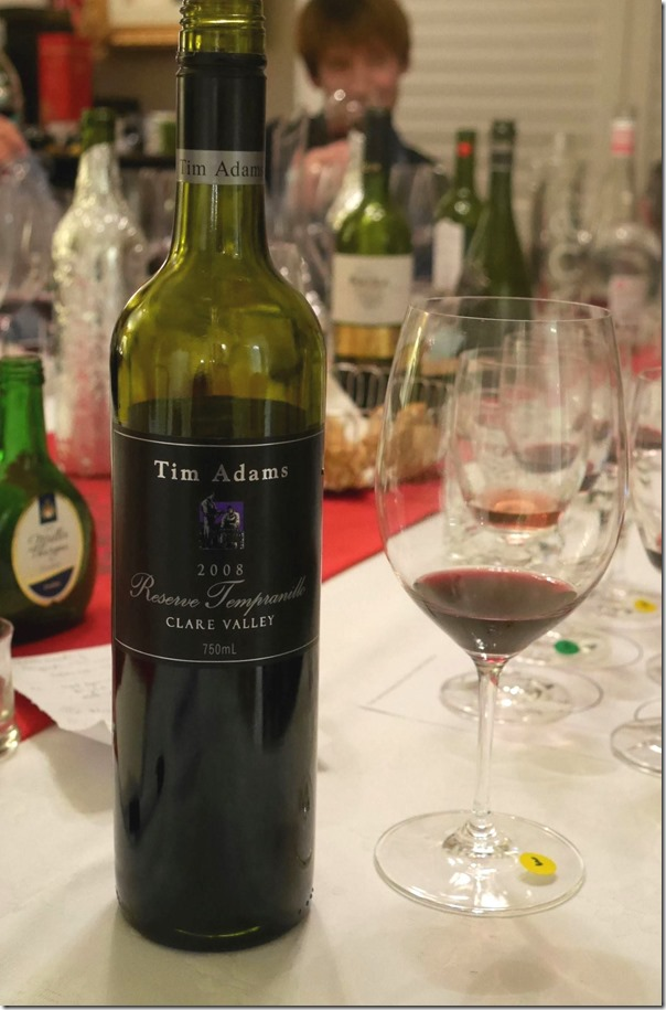 2008 Tim Adams Reserve tempranillo