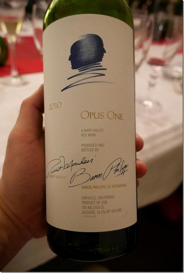 2010 Opus One