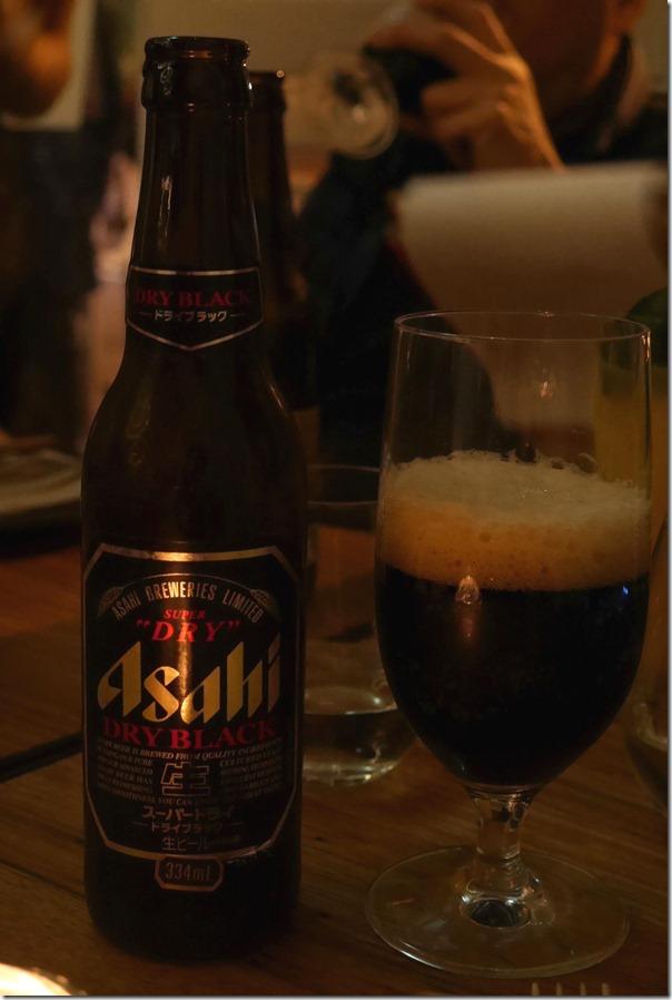 Asahi dry black $13