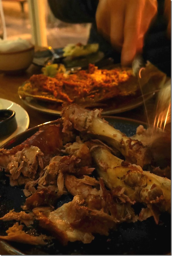 Pork hock ~ slice it all up!!