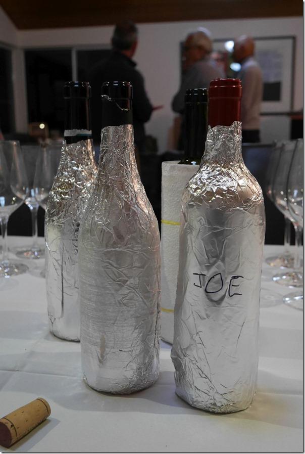Blind tasting of Italian wines