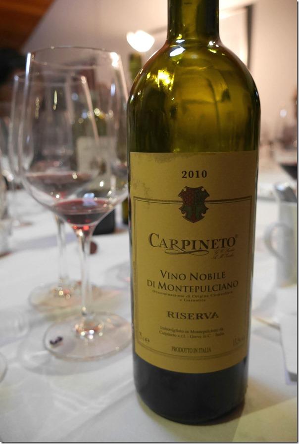 2010 Carpineto Vino Nobile di Montepulciano Riserva