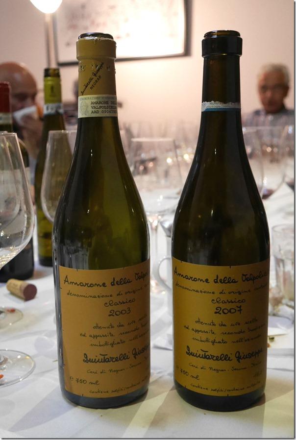 2003 & 2007 Giuseppe Quintarelli Amarone della Valpolicella Classico