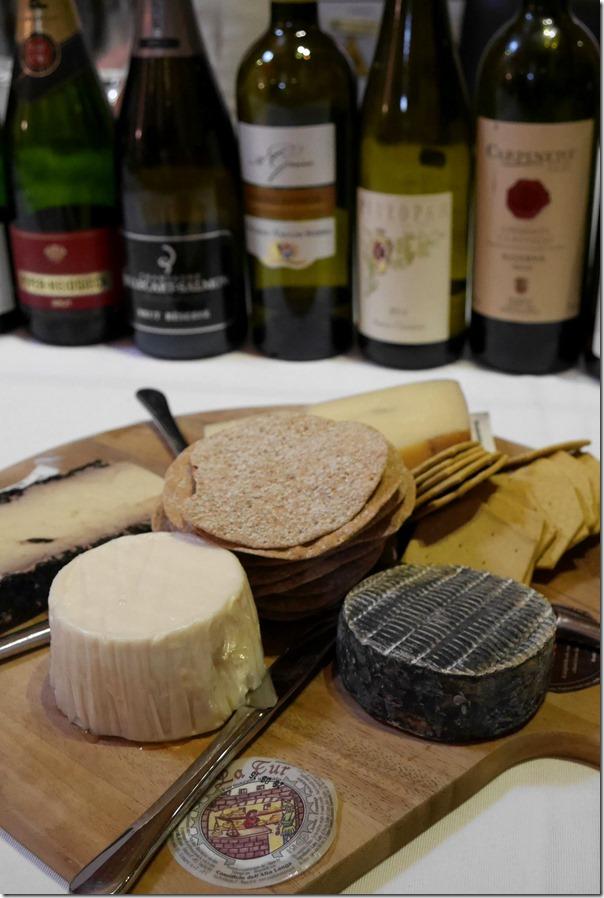 Selection of Italian formaggio