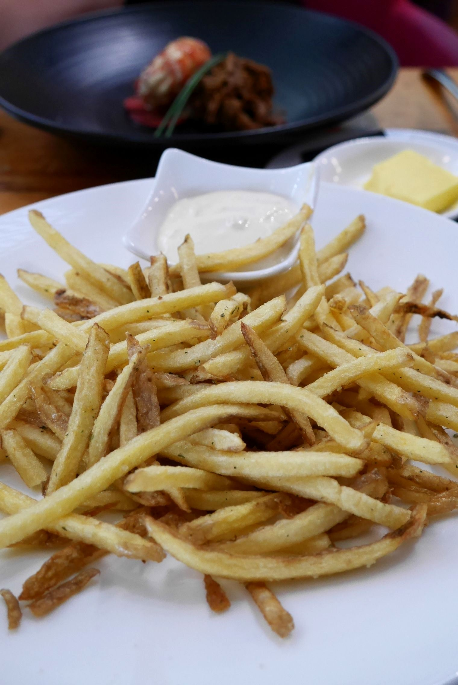 French fries, bay salt (comes with Special rib eye)