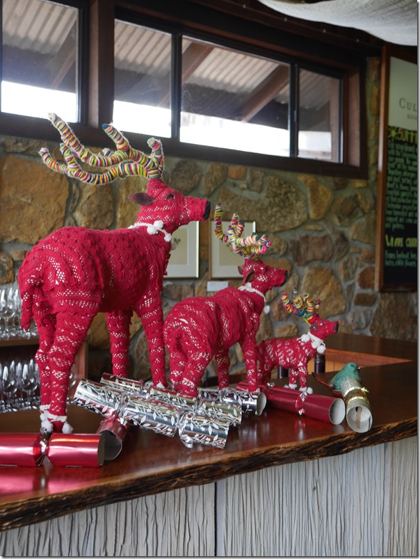Reindeers add to the festive mood during the Xmas season