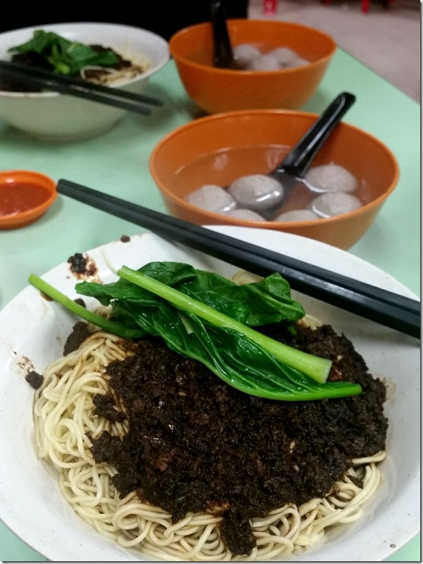 Soong Kee beef ball noodles RM6 / A$1.80