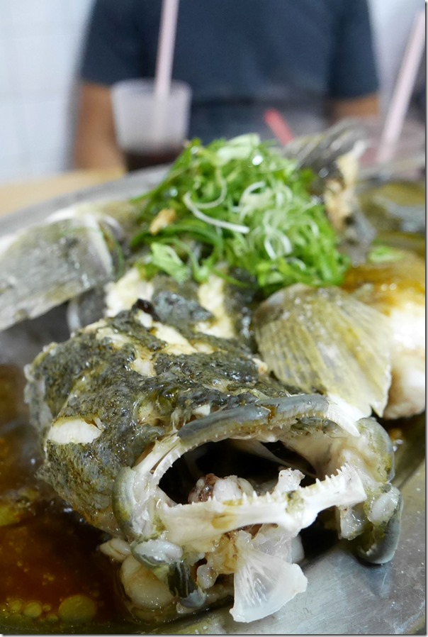 Steamed soon hock / marble goby fish in special soy sauce RM200 / A$60