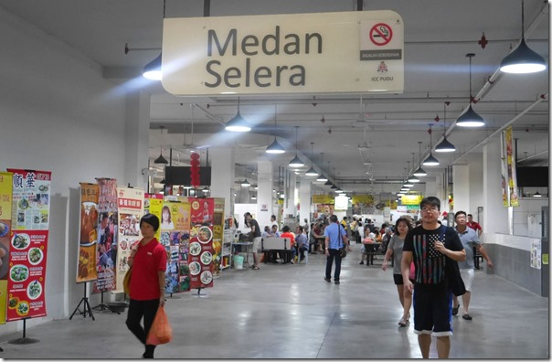 New food hall in ICC Plaza Pudu, Kuala Lumpur