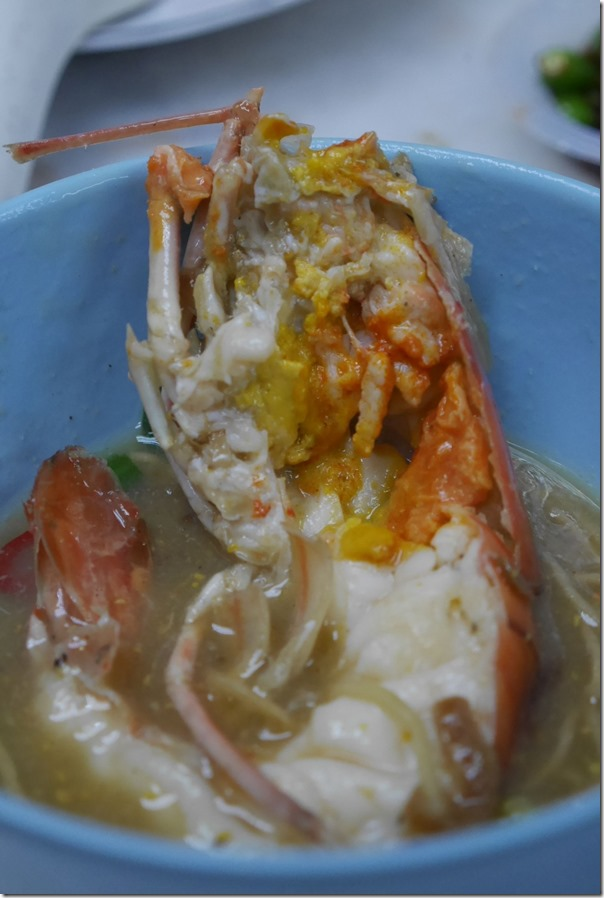 Sang har meen RM60 / $18.20 per large king prawn