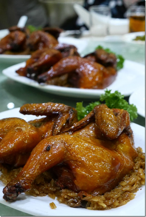 Deep fried mini chicken with glutinous rice RM23.80 / A$7.20 each