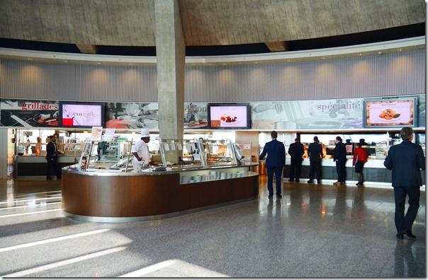 Nestlé's staff canteen