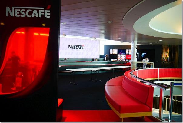 Nescafe centre at Nestlé headquarters