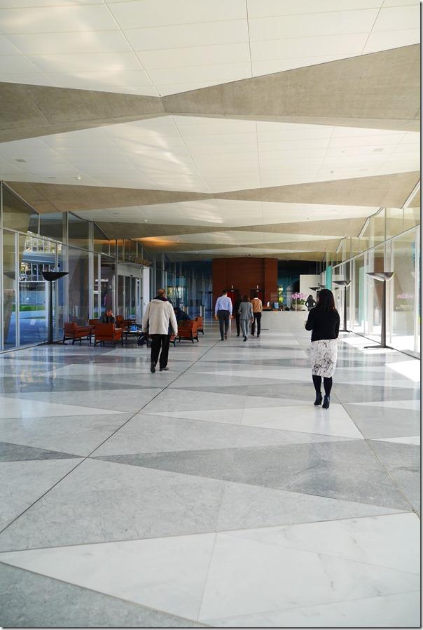 Main foyer of Nestlé headquarters, Vevey