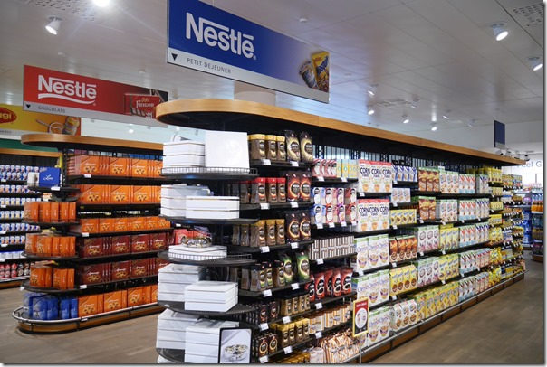 Nestlé staff shop