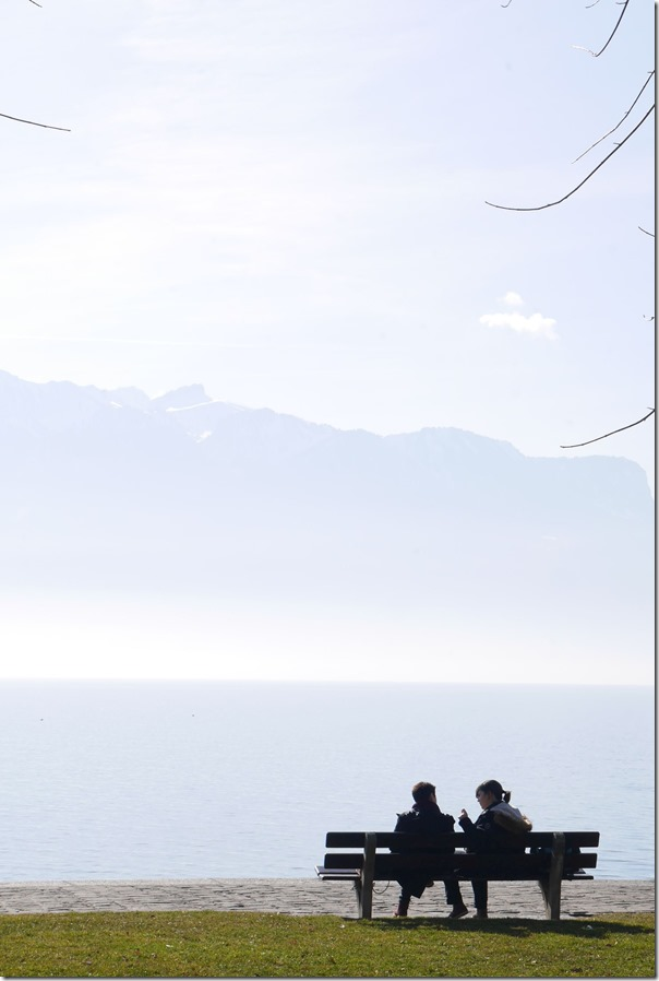An afternoon along the banks of Lake Geneva