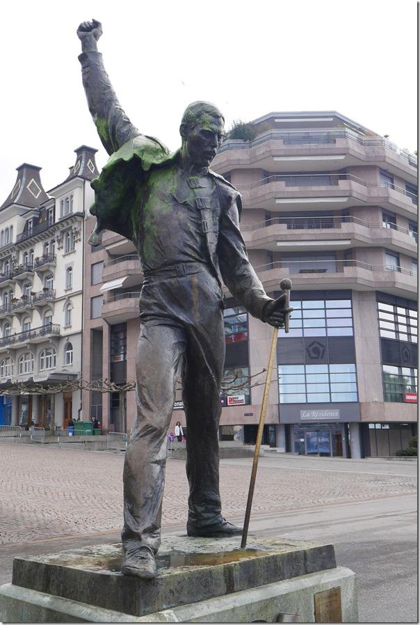 Statue of Freddy Mercury