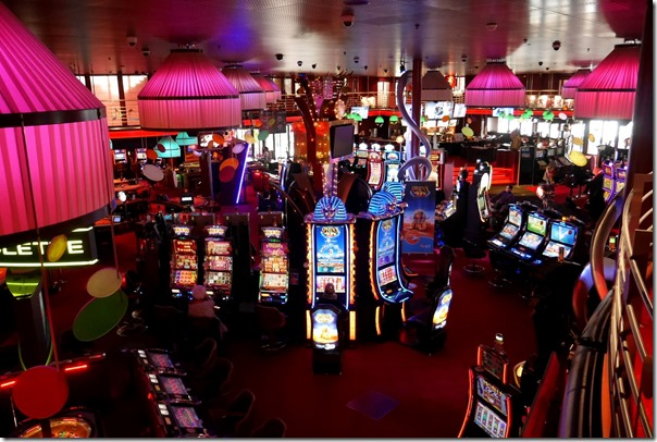 Jackpot machines in Casino de Montreux