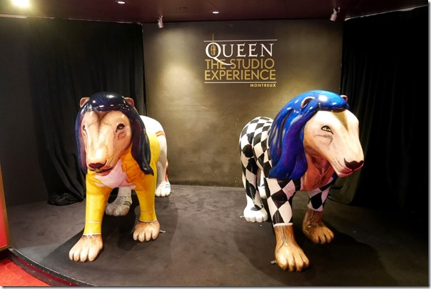 Figurines at The Mercury Phoenix Trust, Montreux