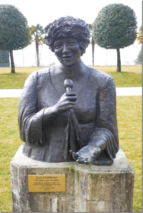 Bust of Ella Fitzgerald (25 April 1917 – 15 June 1996)