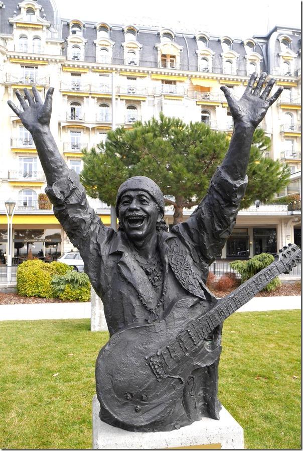 Bust of Carlos Santana
