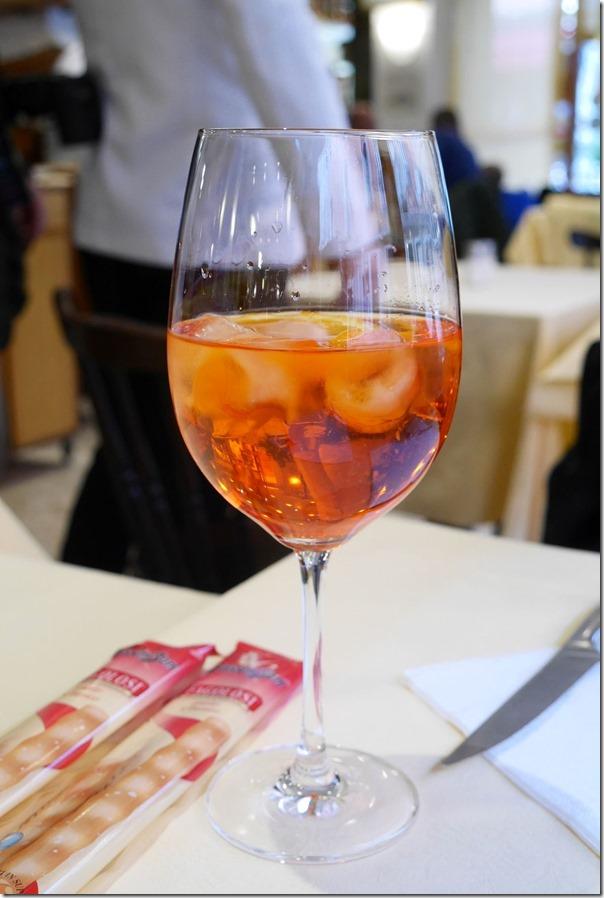 Aperol spritz Euro$3 / A$4.20