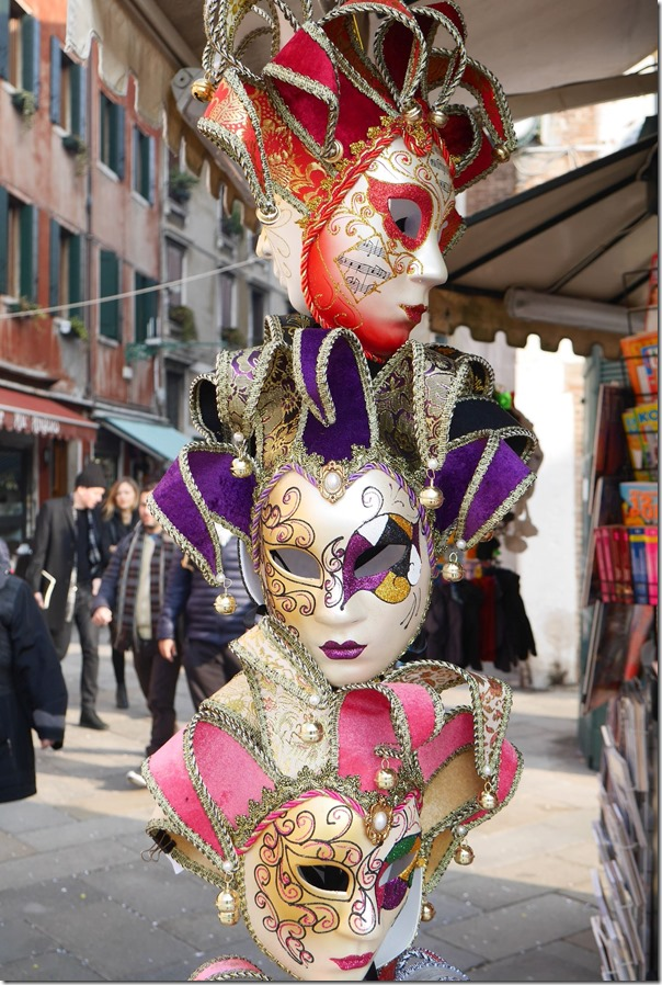 Masks with elaborate colours and design