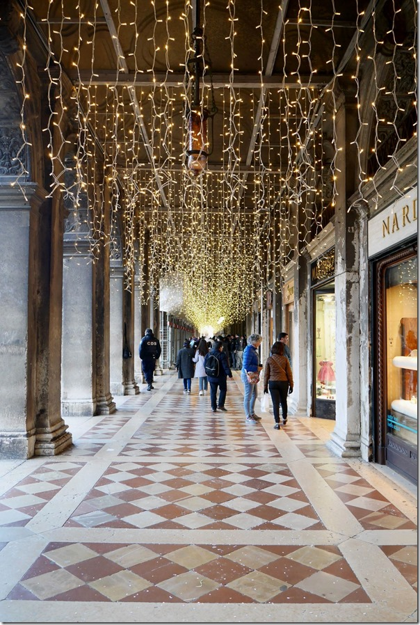 Shopping arcade in Venice