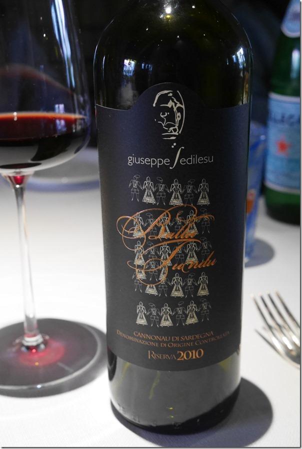 2010 Giuseppe Sedilesu Cannonau di Sardegna Ballu Tundu Riserva €48 / A$67