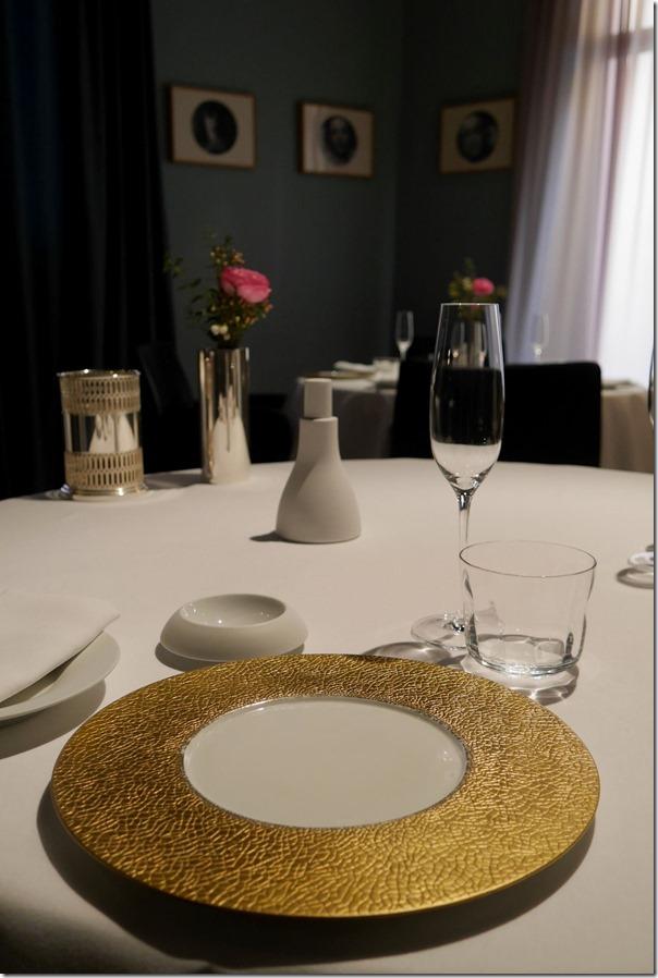 Table setting, Osteria Francesca