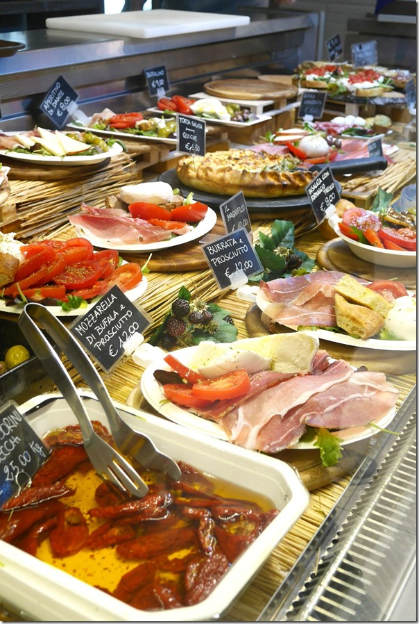 Antipasto counter