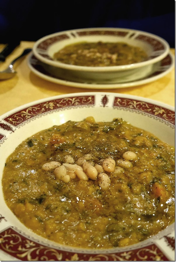 Peasant style ribollita €9 / A$13