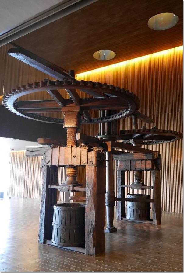 Old wine press , Antinori museum