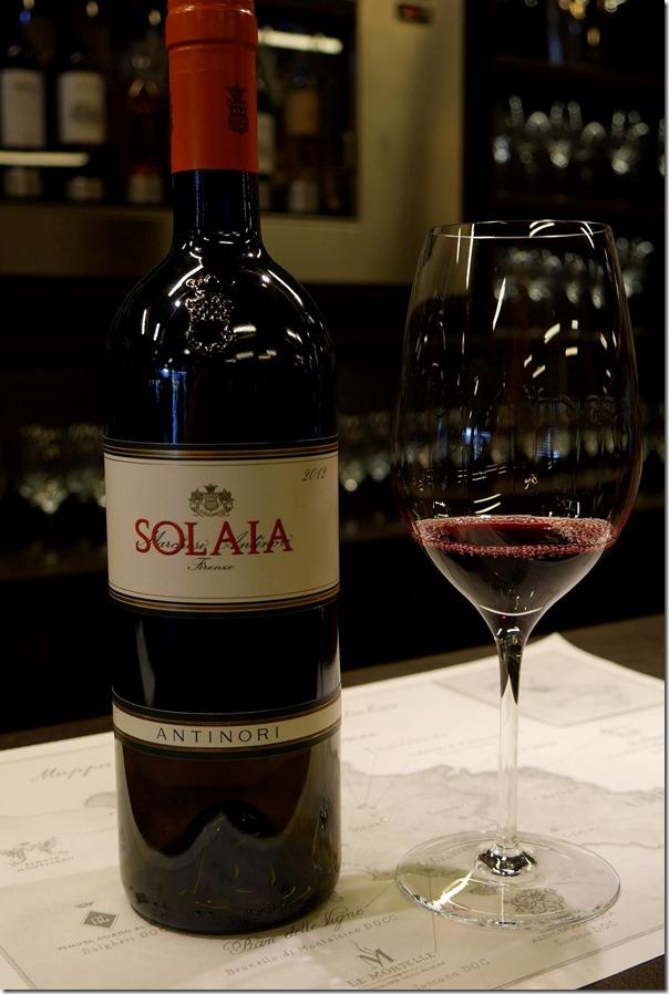 2012 Antinori Solaia Toscana IGT
