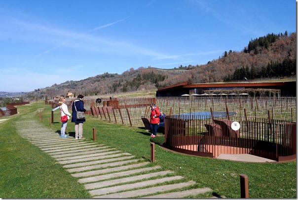 Winery rooftop, Antinori Nel Chianti Classico