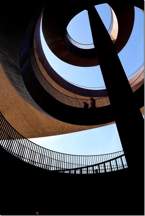 Spiral staircase at Antinori Nel Chianti Classico
