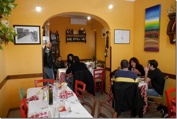 Dining room, La Taverna della Berardenga