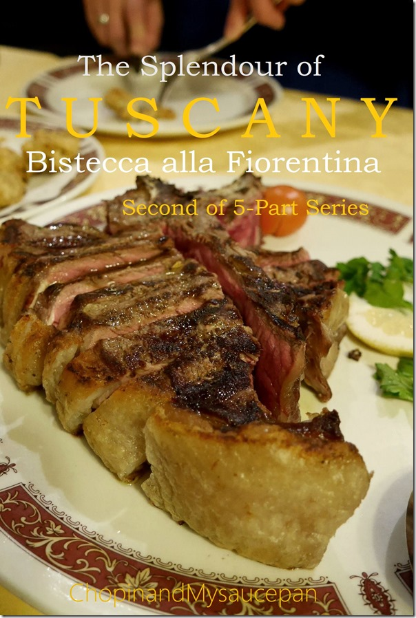 The Splendour of Tuscany, Bistecca alla Fiorentina