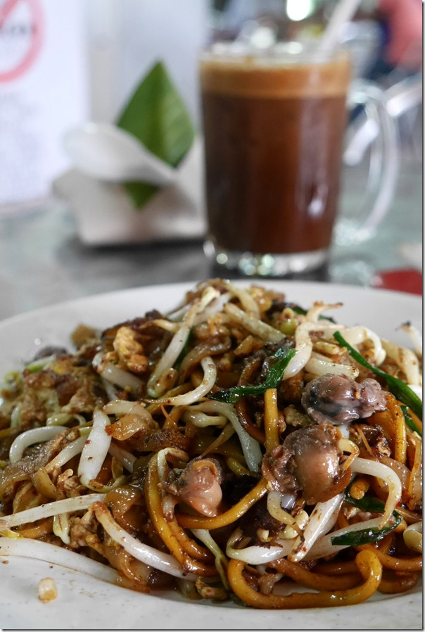 KL style char kway teow RM6 / A$1.80