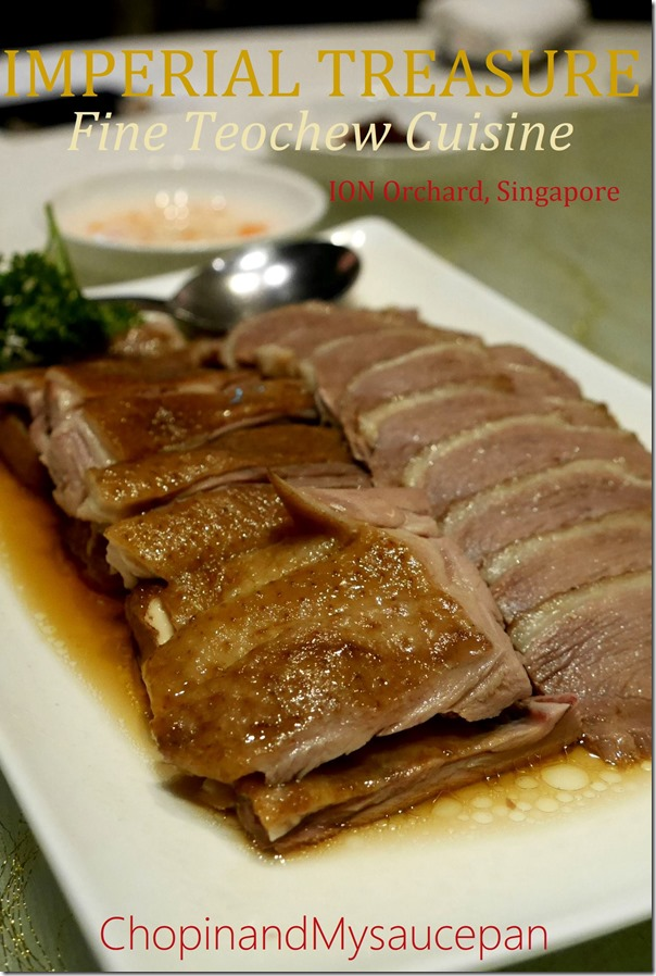 Imperial Treasure Fine Teochew Cuisine, ION Orchard, Singapore