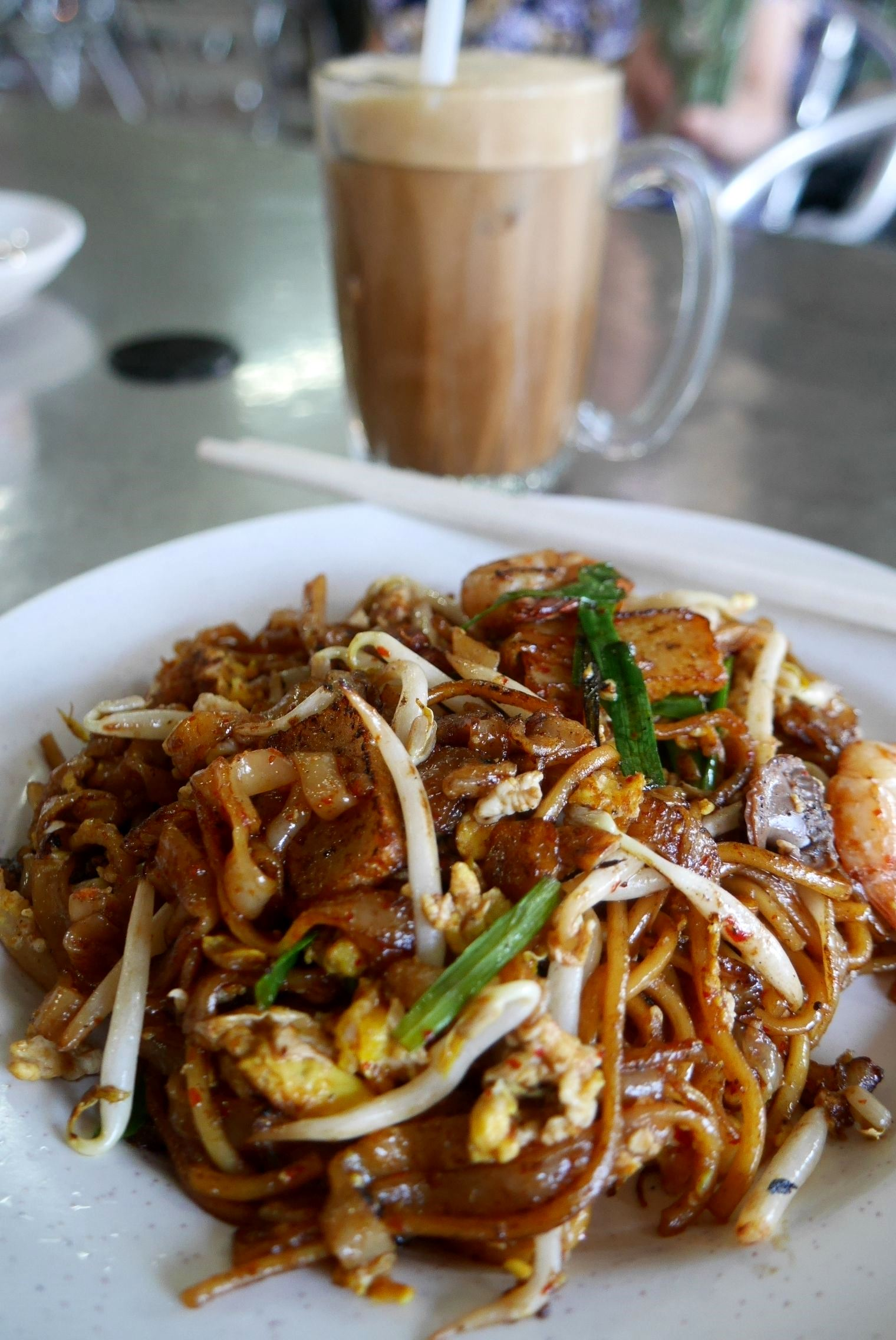 Char kway teow RM7 / A$2.30
