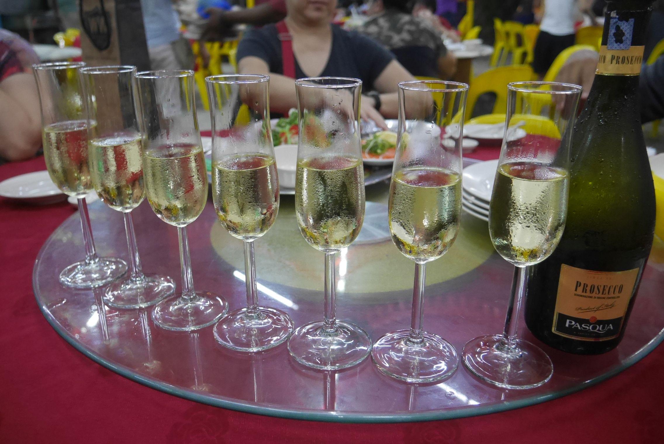 BYO Prosecco and champagne glasses
