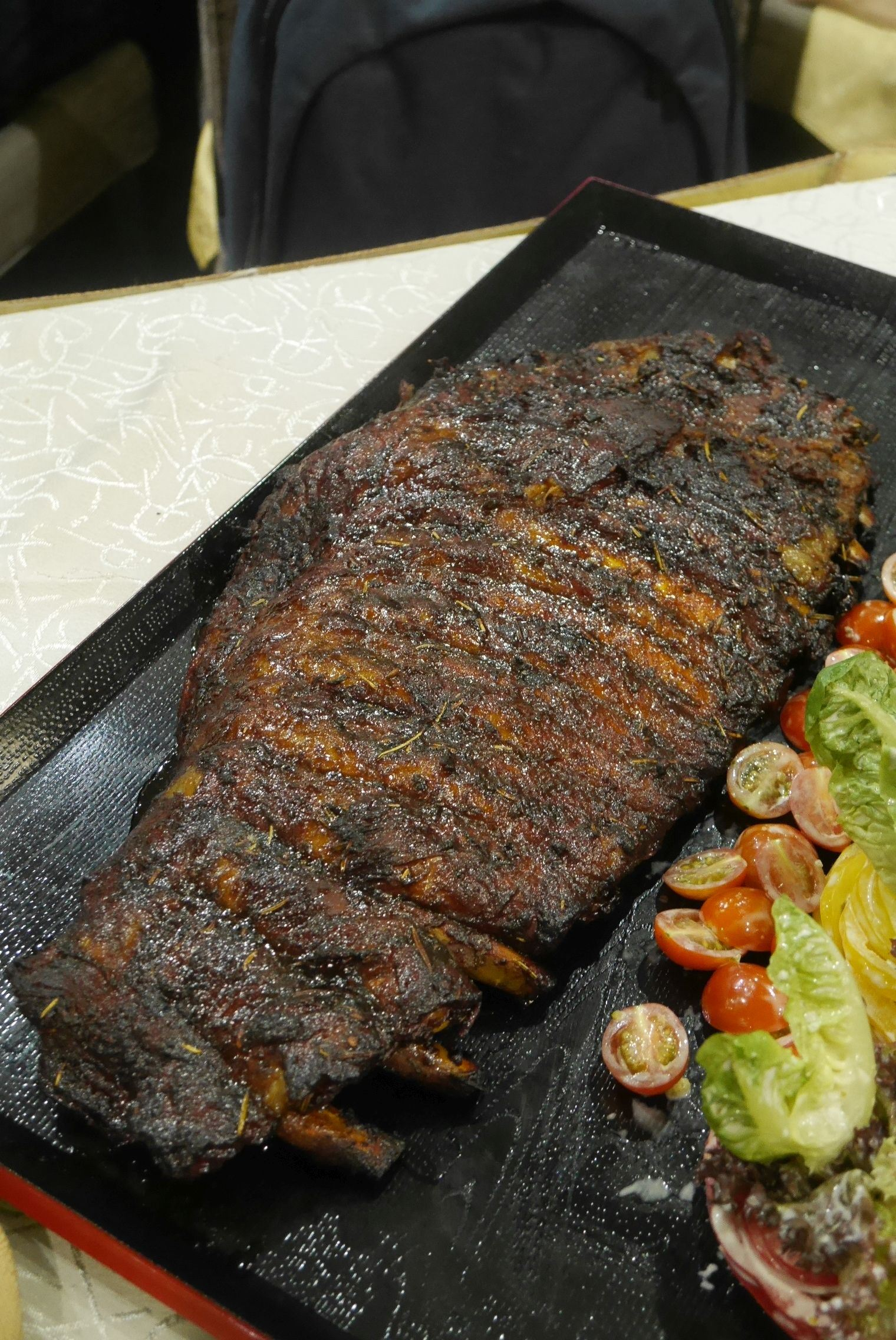 Spanish style Iberico grilled spare ribs RM400 / A$135